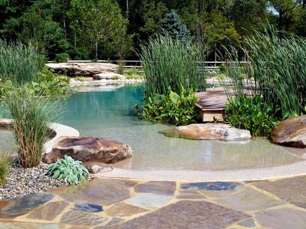 Beach Style Pool Designs Creating A