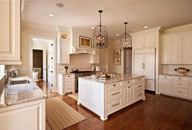 Beige and Creamy White Kitchen Colors, Latest Trends in ...