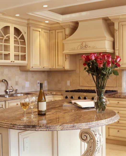 Modern Kitchen Colors, Beige And Natural Wood Shades