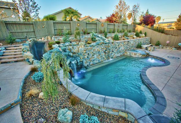 Mini Pool Garden Small Spaces