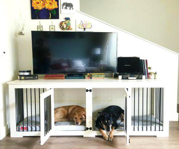 Space Saving Pets Beds Diy Dog Nooks Perfect For Small Spaces