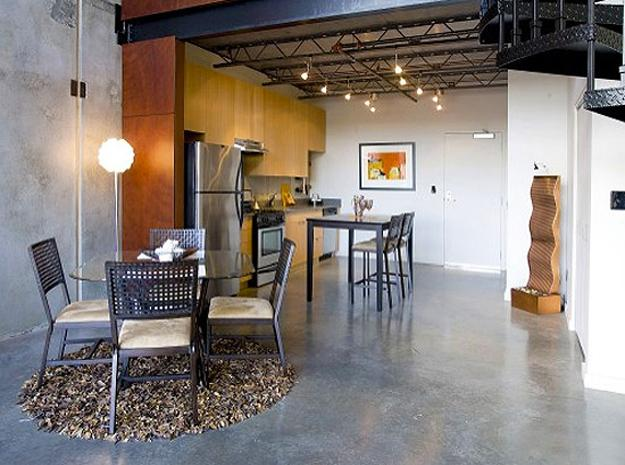 Polished Concrete Floor Contemporary Design Trends