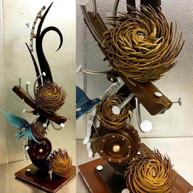 Unbelievable Floral Designs Made From Chocolate