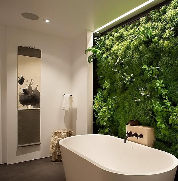 how to create a green wall