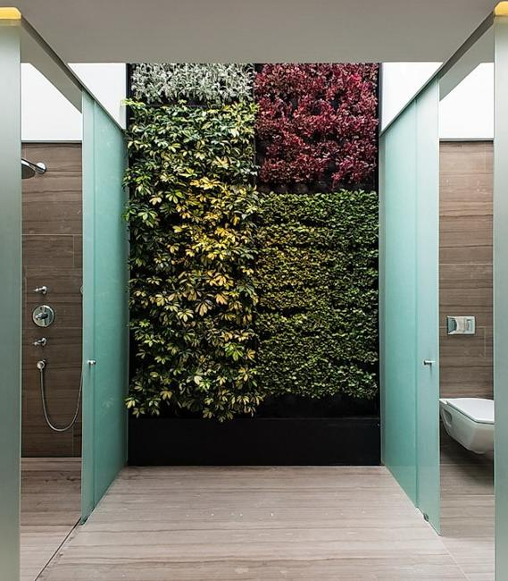 vertical garden wall design