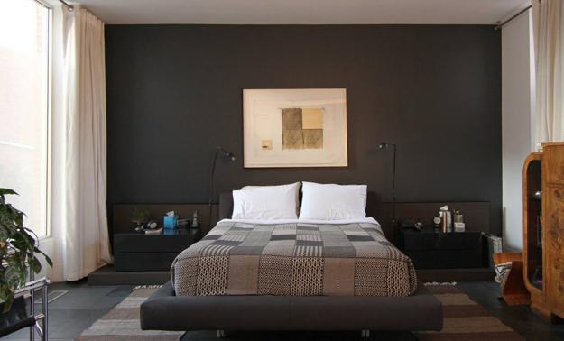 How To Use Dark Interior Colors In Small Rooms And