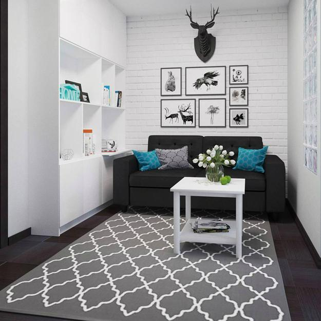 How to Use Dark Interior Colors in Small Rooms and ...
