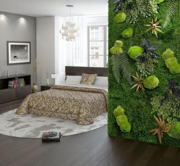 Wall Decor For Colored Wall Mossy Green And Gold Accent: Benefits Of Accent Wall Design With Moss, Stunning Green