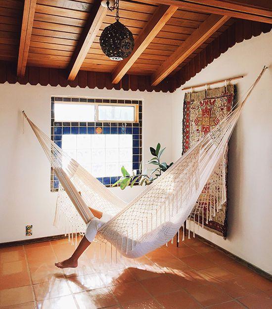 Interior Design Ideas 2018: Relaxing Interior Design Ideas Bringing Hammocks Into