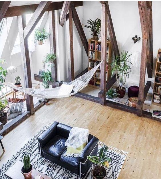 10 Cozy Decor Ideas For Your New Year S Eve Dining Room: Relaxing Interior Design Ideas Bringing Hammocks Into