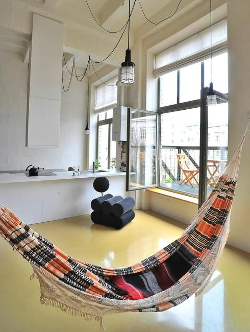 hammock and chair