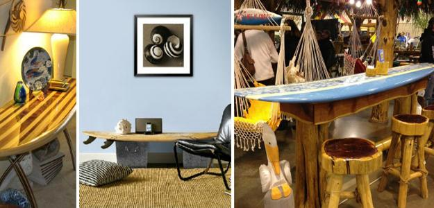 Modern Tables, Surfboard Bar Table, Coffee Table, Console Table