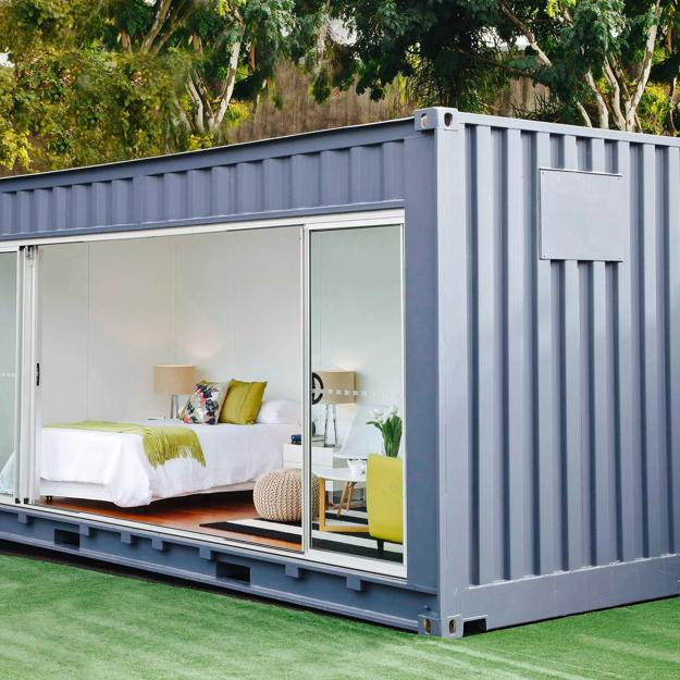 Recycling Cargo Shipping Containers For Small Eco Homes