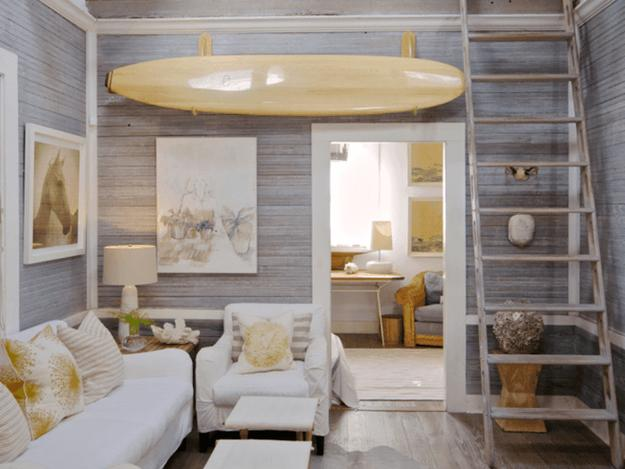 Creative design ideas incorporating surfboards into home - Home decor ideas images ...