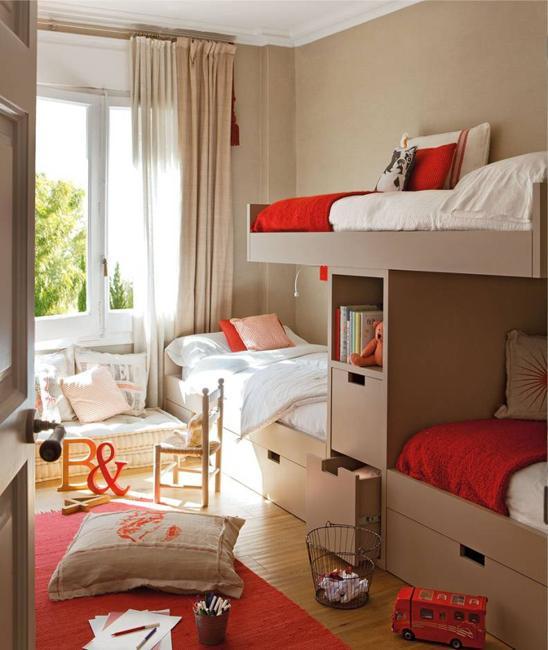 Three Beds, Kids Room Design Ideas