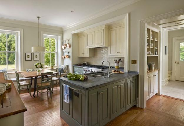 Dark Olive Green Kitchen Cabinets