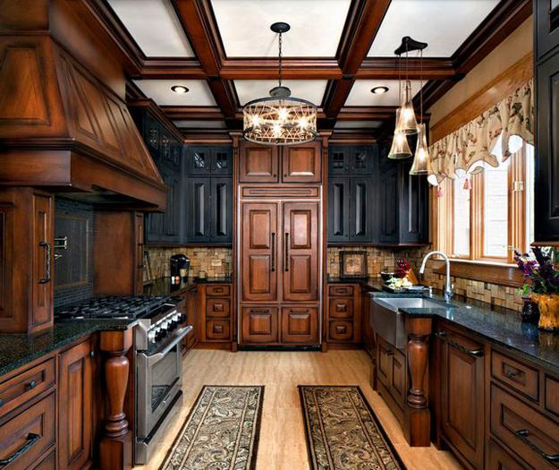 Modern Wood Kitchen Cabinets: Modern Kitchen Trends 2019 Bringing Two Tone Wood Cabinets