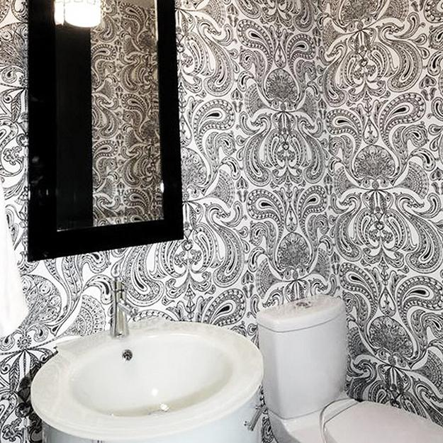 Home Design Ideas Decorating: Modern Wallpaper Designs, Waterproof Ideas For Bathroom