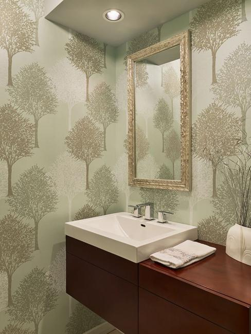 Modern Wallpaper Designs Waterproof Ideas For Bathroom