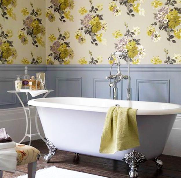 Modern Wallpaper Designs, Waterproof Ideas For Bathroom