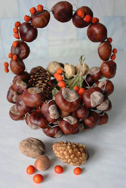 Diy Ideas For Fall Decorating Chestnuts Home Decorations