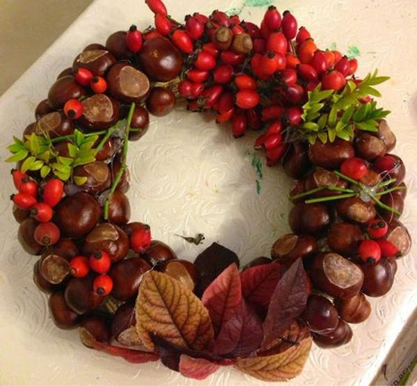 diy ideas  fall decorating chestnuts home decorations