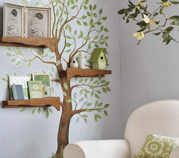 Kids Room Design Trees For Decorating Empty Walls