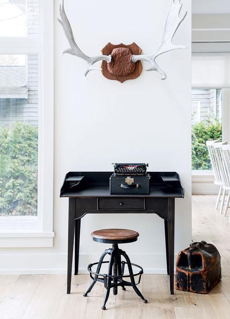 black furniture vintage style