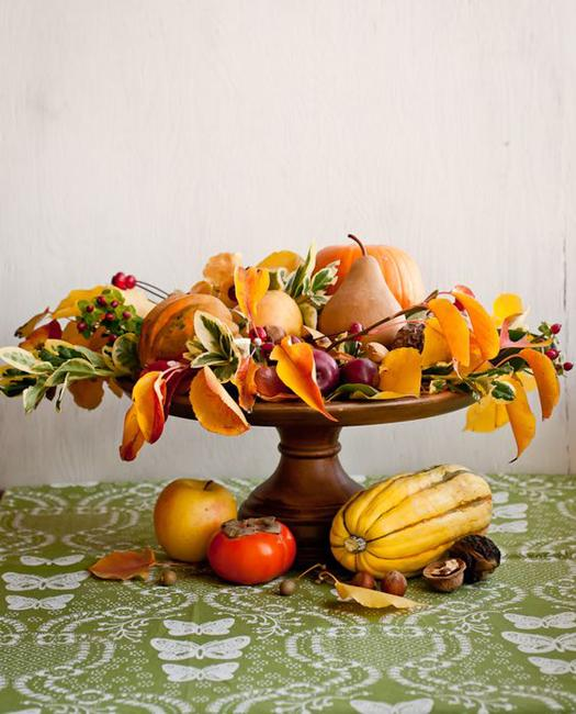 natural materials for fall decorating