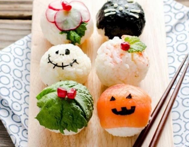 creative food design idea for halloween