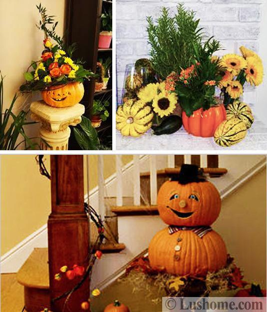 5 Eco Friendly Halloween Decoration Ideas: 25 Friendly Halloween Decorating Ideas, Pumpkins, Plants