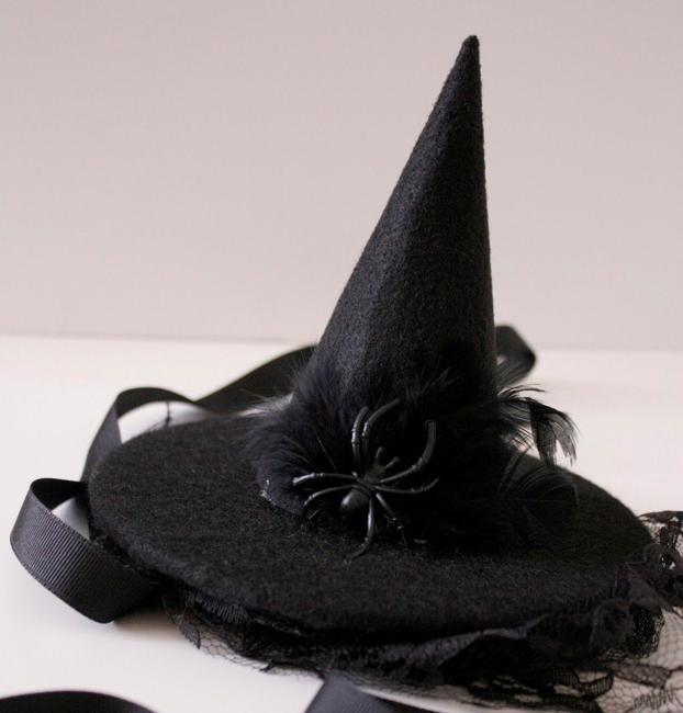 Making Last Minute Witch Hats For Halloween Recycling What You