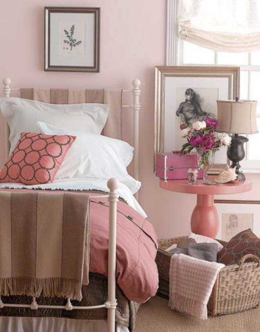 Stylish accents in modern pink color for different - Different interior design styles ...
