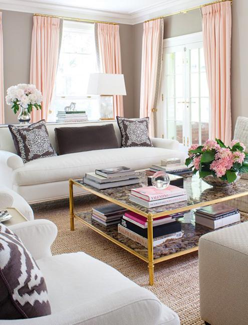 Stylish Accents In Modern Pink Color