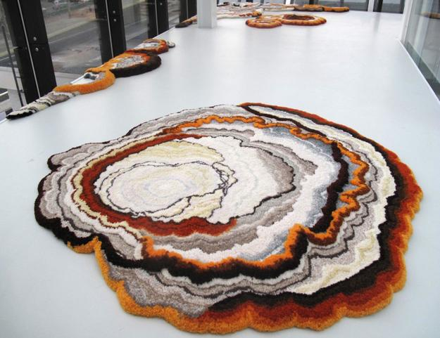 floor decoration nature inspired rugs and carpets