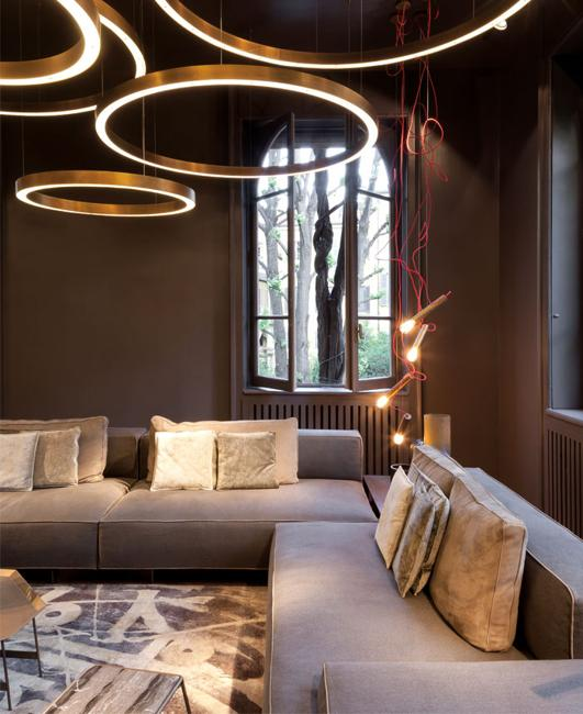 Home Lighting Design Ideas: Color Design Trends 2019 In Modern Lighting Fixtures