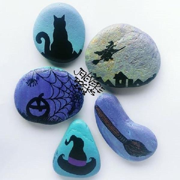 Rock Painting Designs For Gifts And Home Decorations