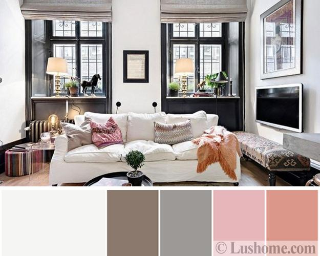 Stylish, Fresh Color Design Ideas for Modern Living Rooms ...