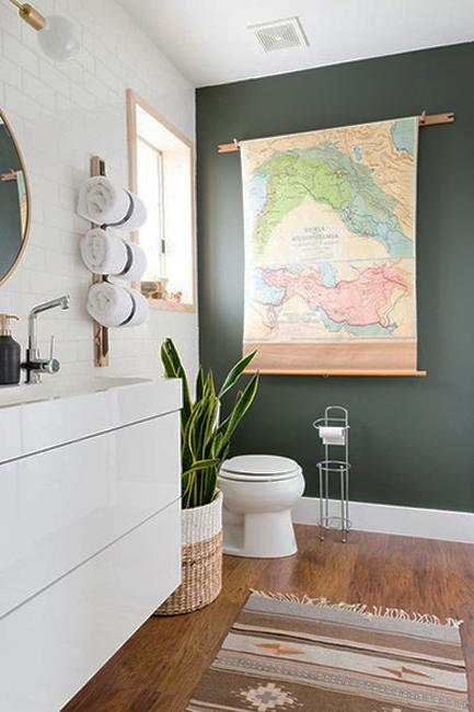 Neutrals Lose to Green Colors, Modern Interior Color ...