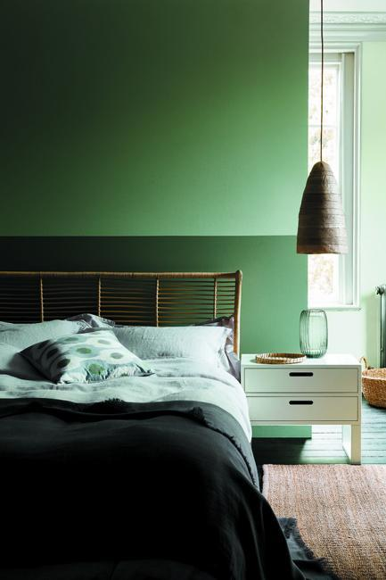 Neutrals Lose To Green Colors Modern Interior Color