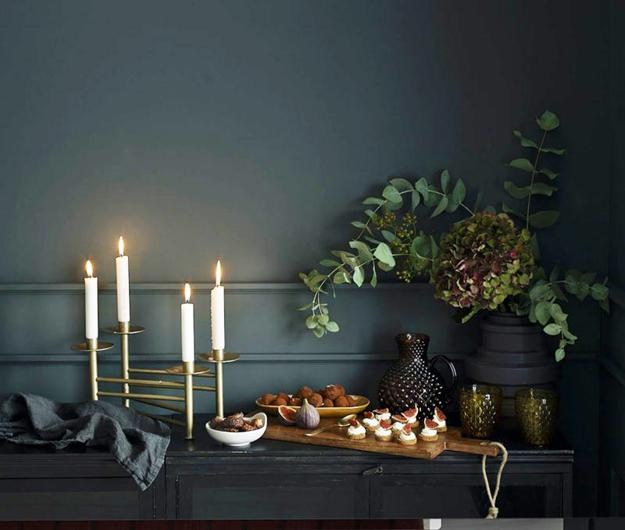 Beautiful Decorations For Your Home: Cozy Christmas Decorating Ideas And Modern Colors For Your