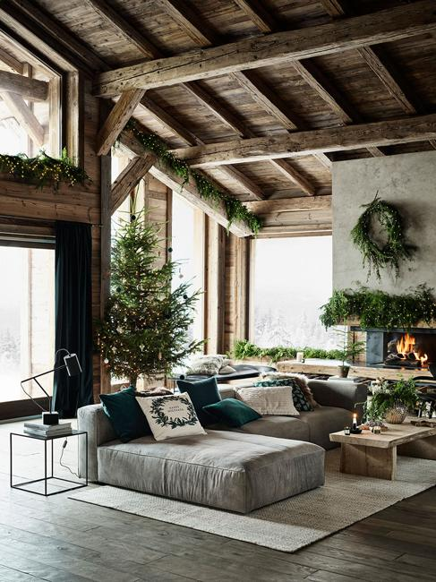living room decorating for christmas wreath on the wall evergreen garland for fireplace decorating