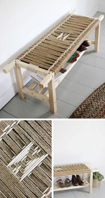 The Beauty Diy Weave Furniture Handmade