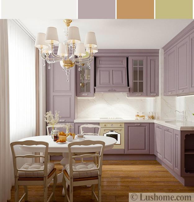 Green And Purple Kitchen: 15 Interior Design Color Schemes Offering Stylish Color