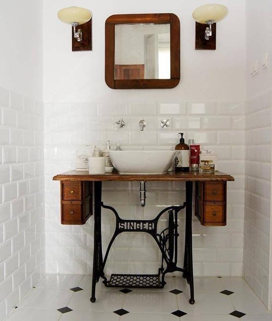diy ideas recycling vintage furniture for bathroom sink vanities