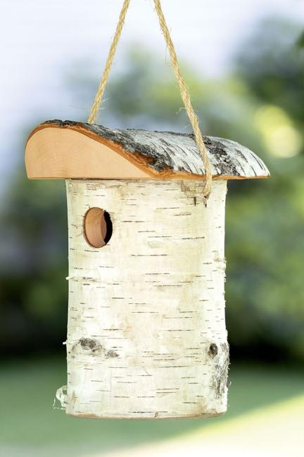 Rustic Wood Birdhouse Design Ideas Natural Choices For