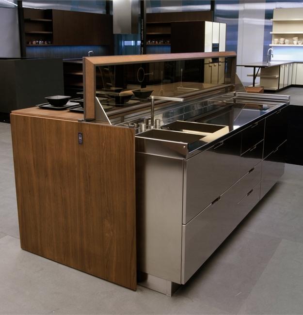 Chair Kitchen Countertop Remodel: Space Saving Kitchen Trends, Transformer Kitchen Designs