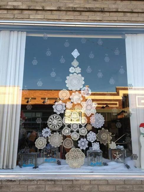 DIY Snowman Snowflake Christmas Decoration Window Glass ...