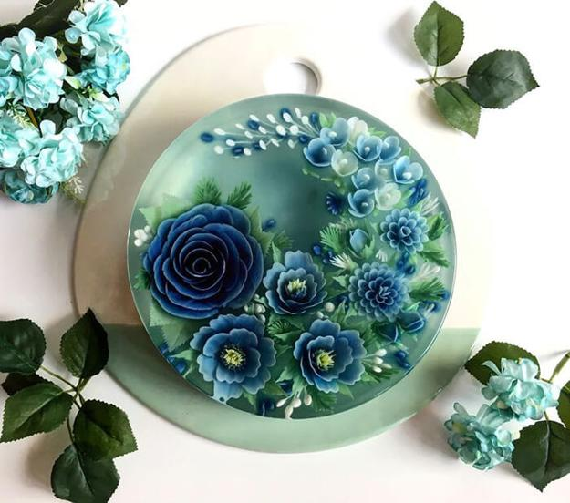 Too Beautiful To Eat Jelly Cakes Creative Design In Food Art
