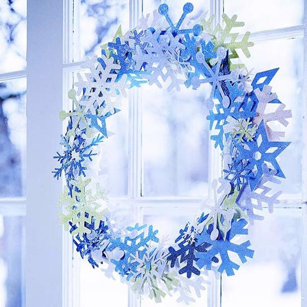 Blue And White Christmas Colors Elegant Cool Color